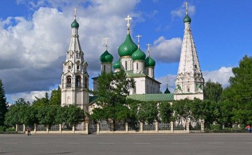 фото ярославского храма Ильи Пророка