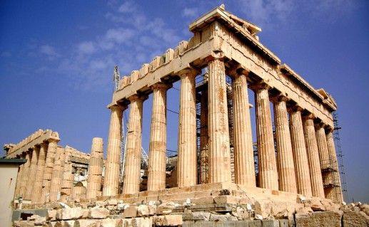 фото храма Парфенон в Греции