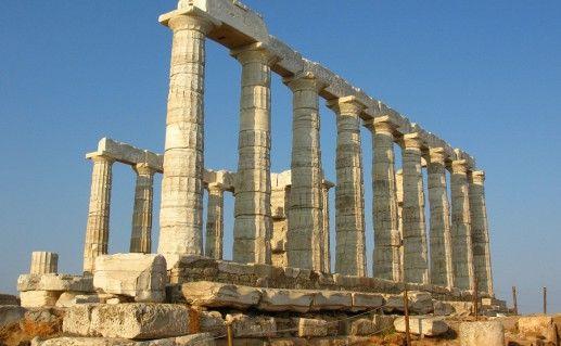 фотография храма Посейдона Сунион