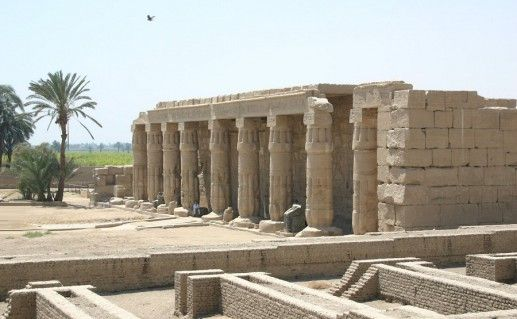 фото храма Сети в Египте
