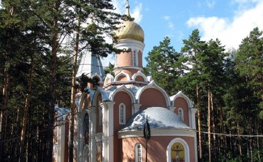 фотография новосибирского храма Троицы Живоначальной