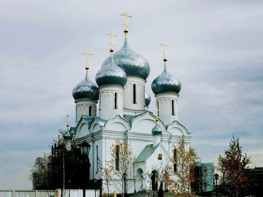 Храмы Новосибирска Фото  храм в честь иконы Божией Матери в Новосибирске фотография