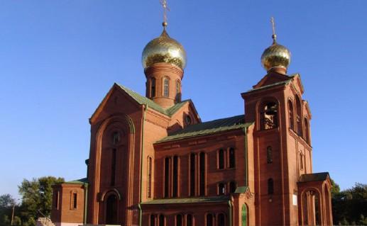 храм Василия Великого в Челябинске фотография