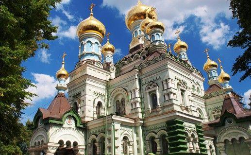 Никольский храм в Киеве фото