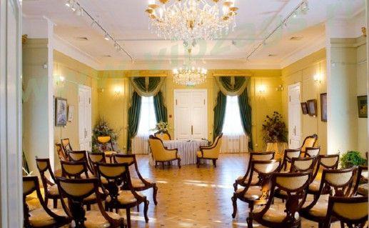 вид внутри на Коломенский дворец бракосочетания фото
