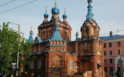 краснодарский Свято-Георгиевский храм фотография