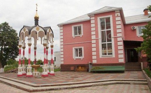фото Крестовоздвиженской старооскольской церкви
