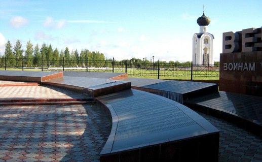 ржевское мемориальное кладбище советским солдатам фото