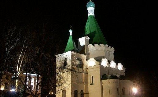 фото Михайло-Архангельского собора в Нижнем Новгороде
