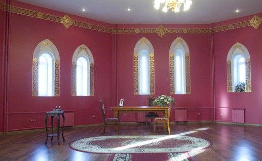 вид внутри на московский дворец бракосочетания №5 фотография