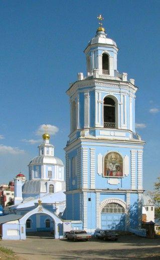 фото Никольской церкви в Воронеже