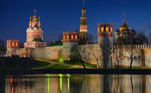 фото Новодевичего монастыря в Москве
