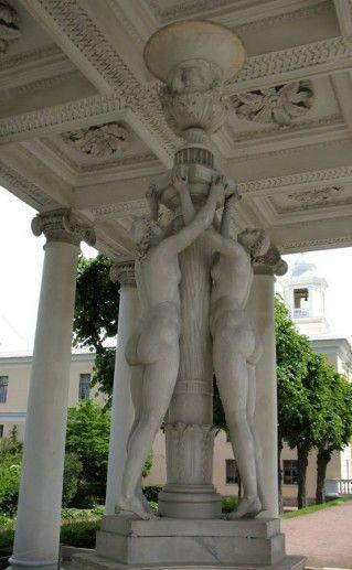 фото Павильона Трех Граций в Павловске