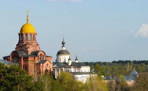 фото Покровского Хотькова монастыря