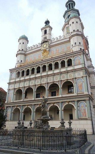 ратуша в Познани фотография