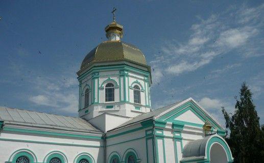 фотография Приморского успенского монастыря в Запорожской области