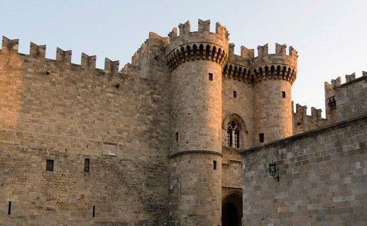 Родосская крепость фотография