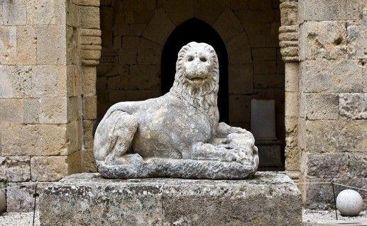 фотография родосского археологического музея