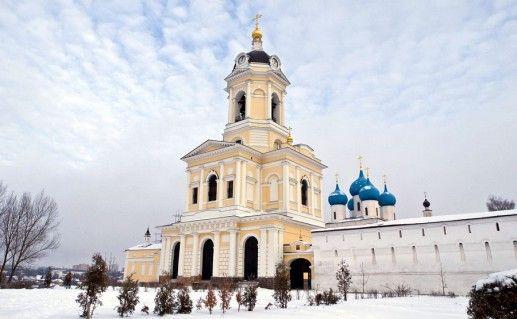 фотография Высоцкого монастыря в Серпухове