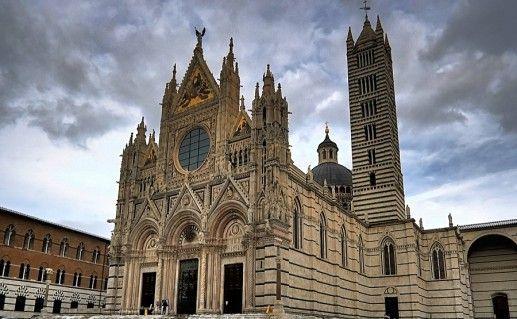 фото кафедрального собора в Сиене