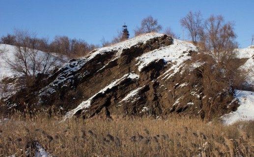 фото криворожских сланцевых скал
