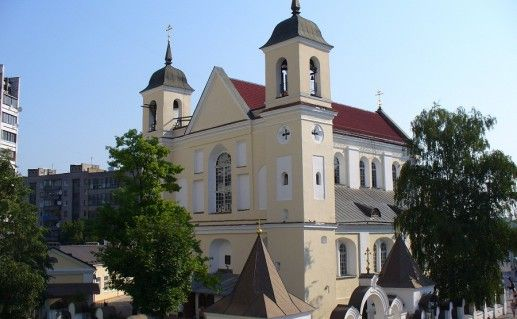 фотография собора Петра и Павла в Минске