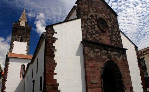 вид на собор Се на Мадейре фотография