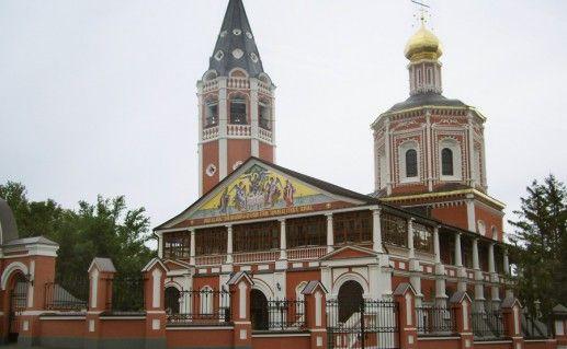 фото собора Троицы Живоначальной в Саратове