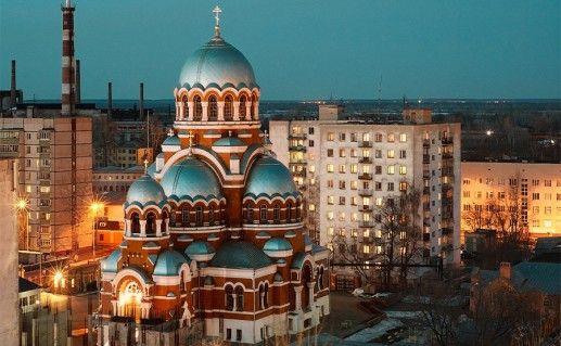 фотография Сормовского Свято-Преображенского собора в Нижнем Новгороде
