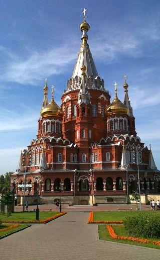 Свято-Михайловский собор в Ижевске фото