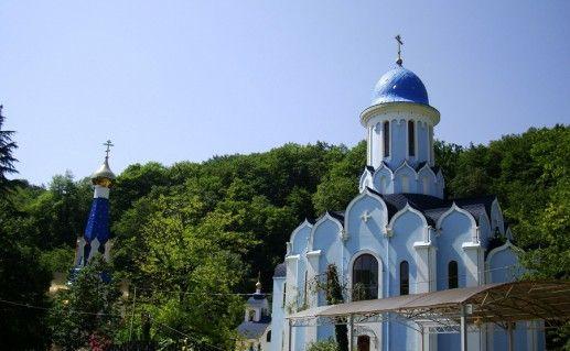 Троице-Георгиевский монастырь в Краснодарском крае фото