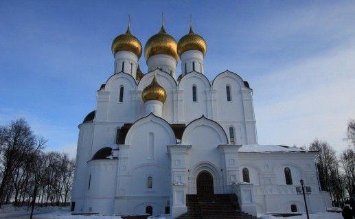 фото Успенского собора в Ярославле