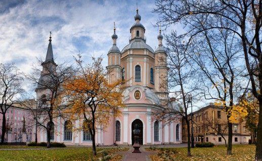 фото вида на петербургский Андреевский собор