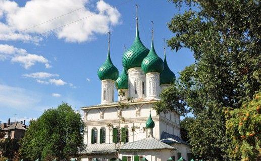 фото вида на ярославский Феодоровский собор