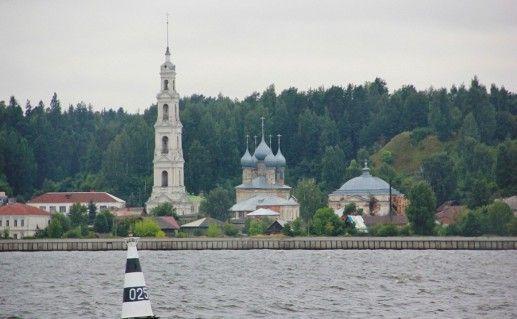 фото вида на кинешемский храмовый ансамбль