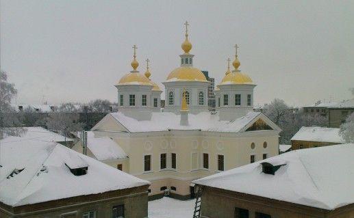 Крестовоздвиженский собор в Нижнем Новгороде фотография