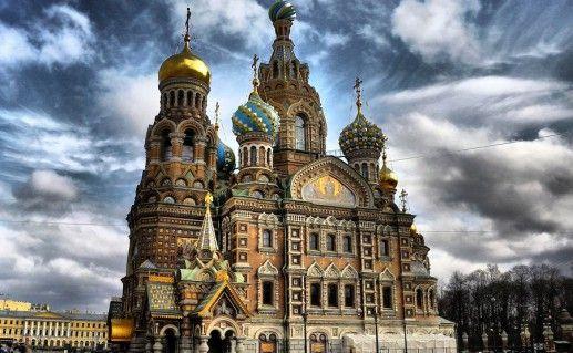 фотография петербургского храма Спаса-на-Крови