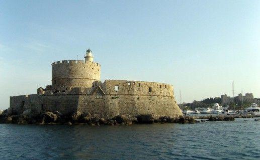 фото вида на Родосскую крепость