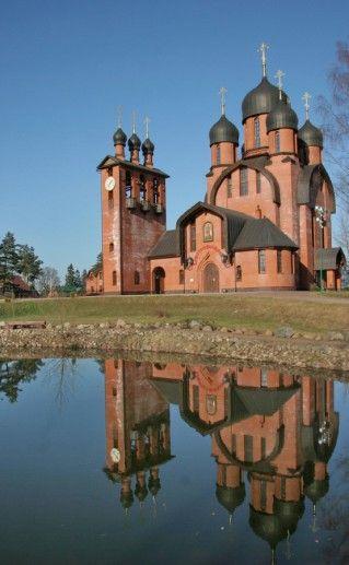 фотография вида на собор Архистратига Михаила в Москве