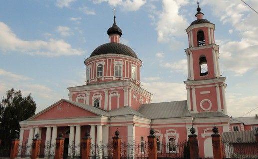 Крестовоздвиженская церковь в Старом Осколе фотография