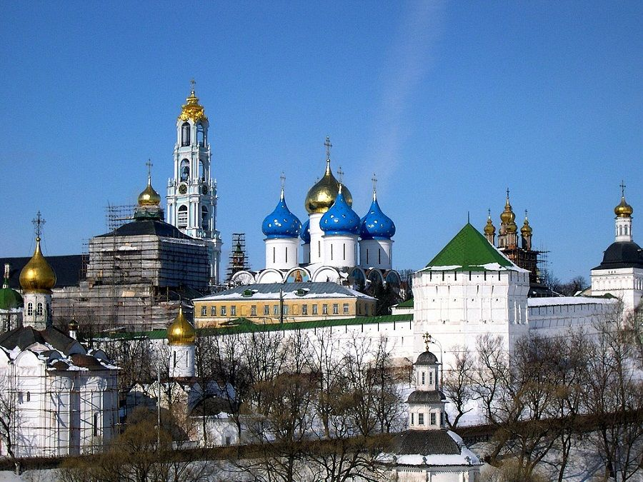 колокольня троице сергиева монастыря