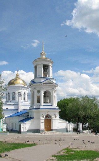 фотография воронежского кафедрального Покровского собора