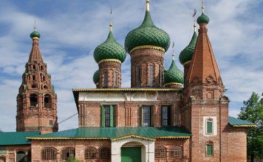 фотография вида на Храм Николы Мокрого в Ярославле