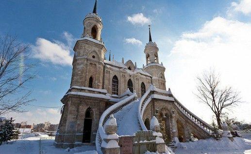 фотография Владимирской церкви в Быково
