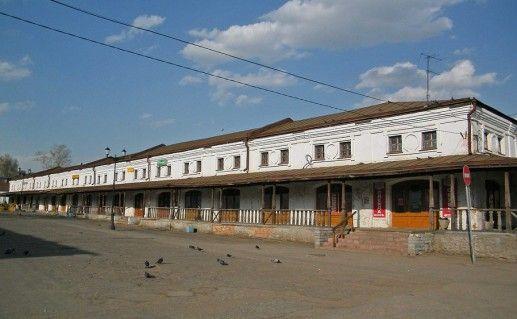фото Торговых рядов в Юрьев-Польском