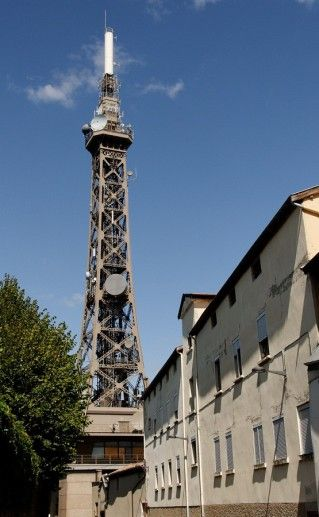 фото башни Фурвьер в Лионе
