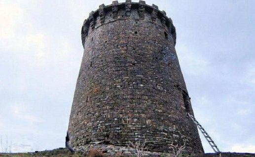 дагестанская башня Ицари фотография