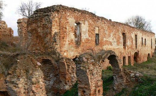 белорусский Гольшанский замок фотография