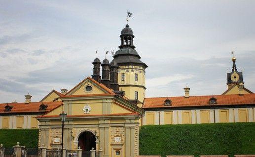 фото белорусского Несвижского замка