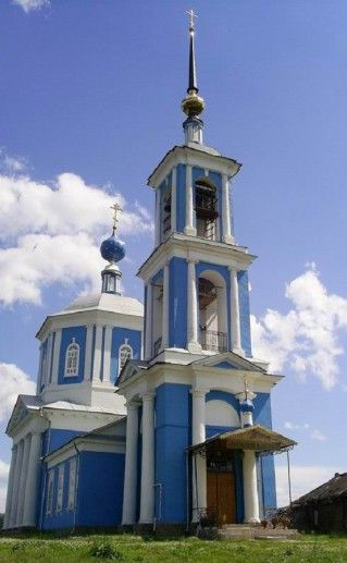 церковь Иерусалимской иконы Божией матери в Кимрах фотография